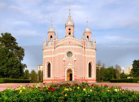 Санкт-Петербург. Чесменская церковь