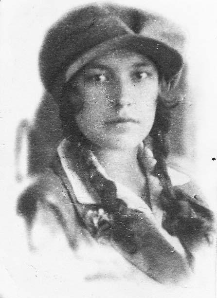 Матюх Вера Фёдоровна, фотография 1929 года