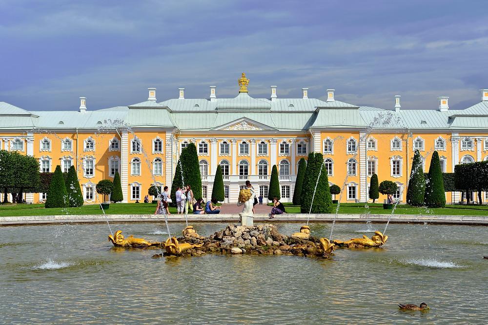 Россия, Санкт-Петербург, Петергоф, Большой Петергофский дворец