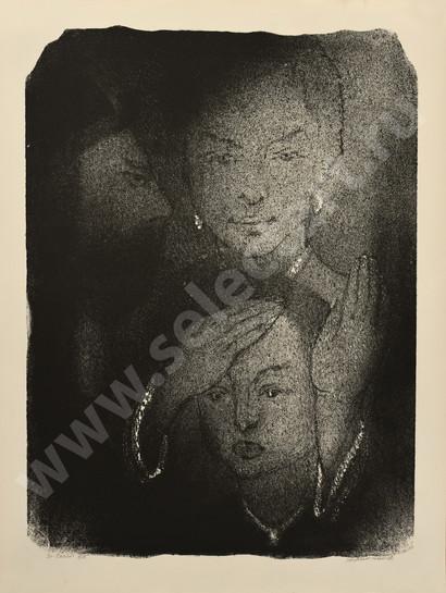 Каплан Анатолий Львович 1967 30 -Семья- 620х470 литография selectart.ru.jpg