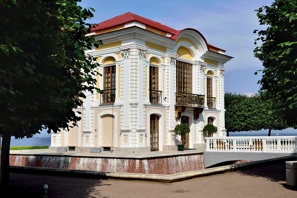 Россия, Санкт-Петербург, Петергоф, Нижний парк, дворец Марли