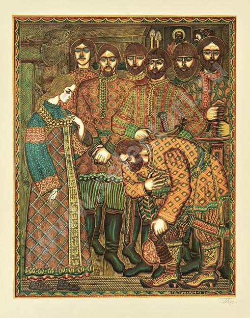 Гетманский А. 1980 -Сказка о мертвой царевне и семи богатырях- 490х380