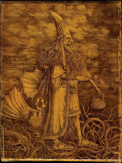 Азарнов Сергей Кириллович «Оаннес (Анунак)» - редкое и отличное приобретение для коллекционера