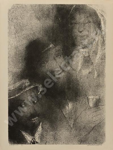 Каплан Анатолий Львович 1967 06 -Родители- 620х470 литография selectart.ru.jpg