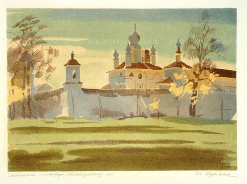 Бухман И.Г. 1981 Зеленецкий монастырь. Ленинградская обл.