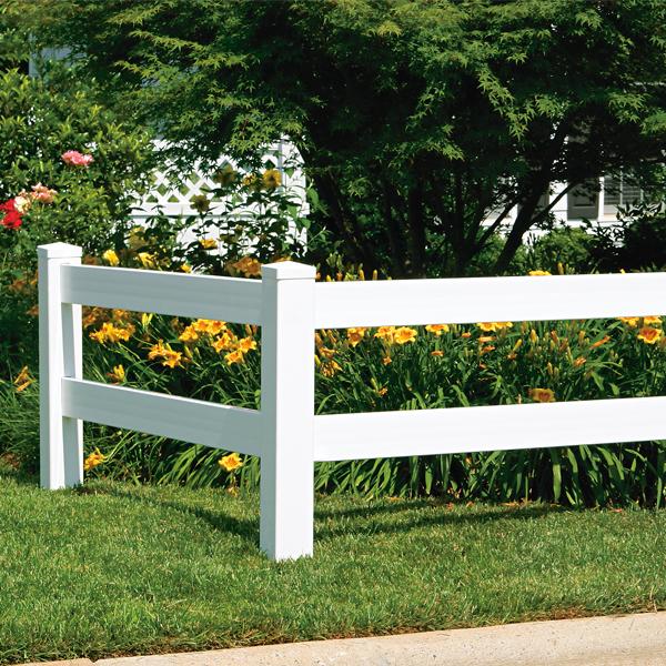 Ranch Rail Vinyl Fence