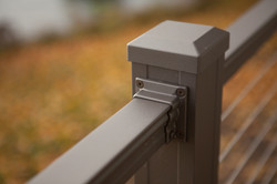 Key-Link Cable Railing