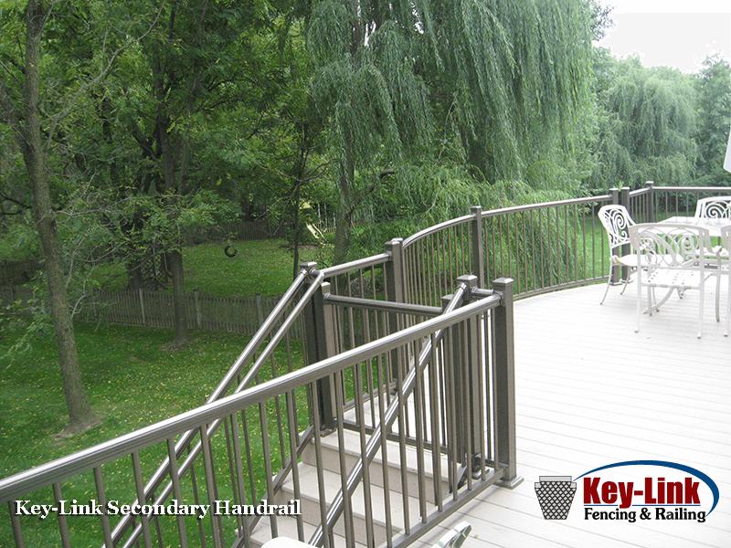 Key-Link Aluminum ADA Handrail
