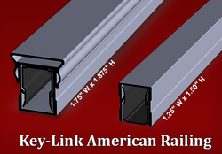 American Railing Profile