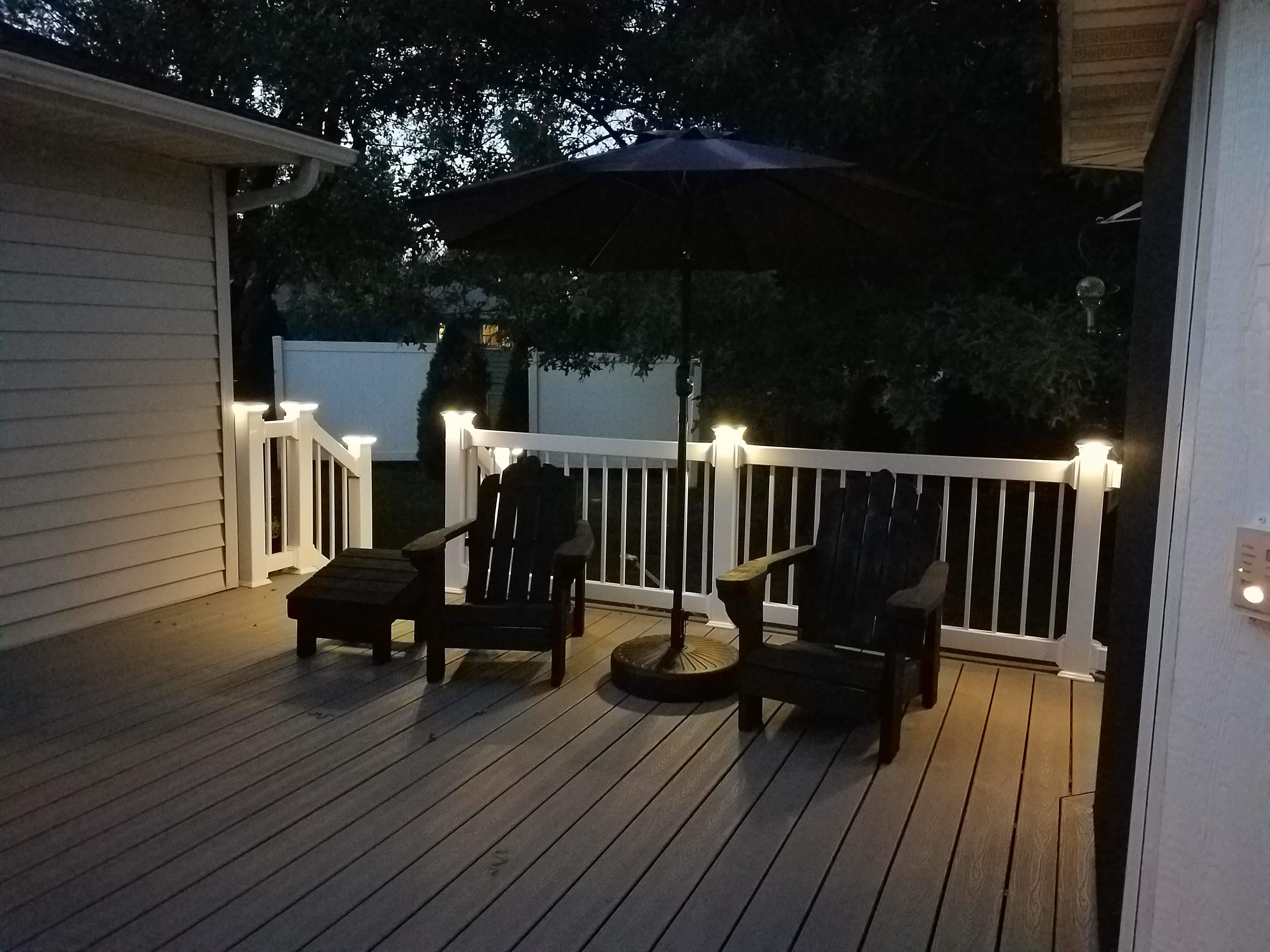 LMT Vinyl Deck Lighting