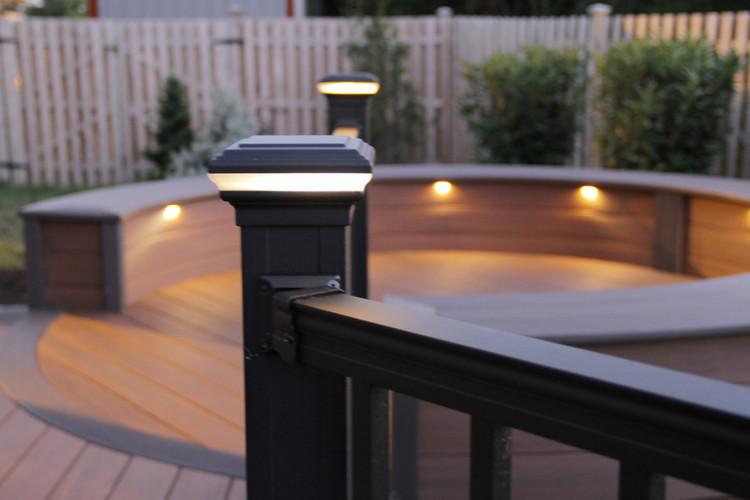 Placid Point Aluminum Deck Lighting