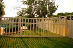 Fairfield Semi-Privacy Vinyl Fence