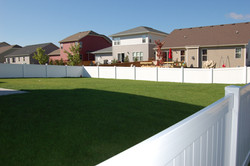 Cambridge Privacy Vinyl Fence