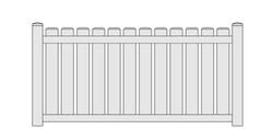 Franklin Vinyl Fence