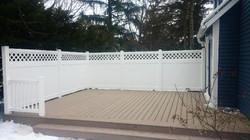 Jefferson  Privacy Vinyl Fence