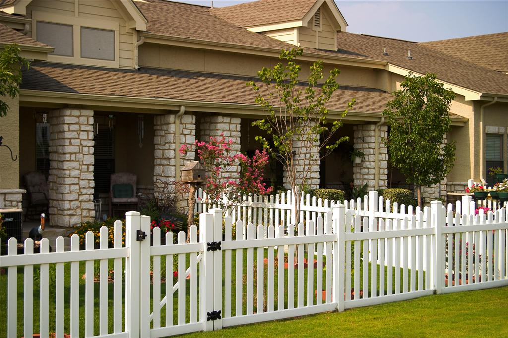 Charleston Picket Vinyl Fence