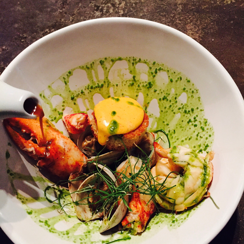 Lobster Bouillabaise