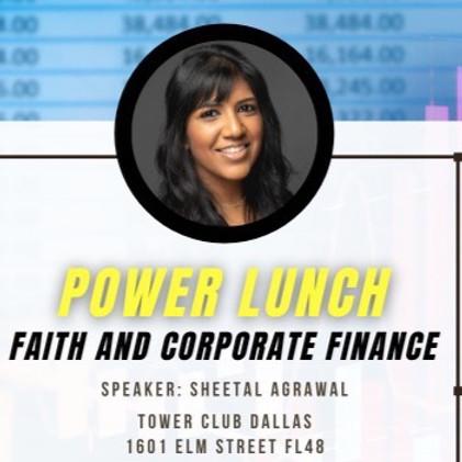 Power Lunch: Faith & Corporate Finance