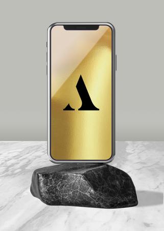 Aileen Marble Logo Design