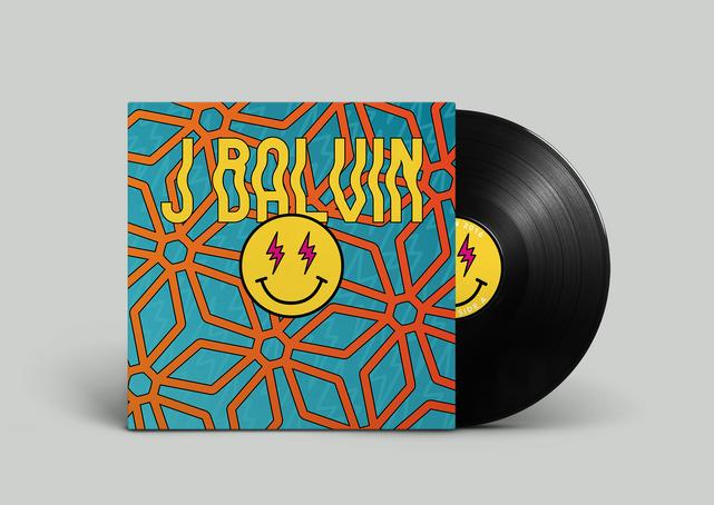 J Balvin Energia Vinyl Record Front