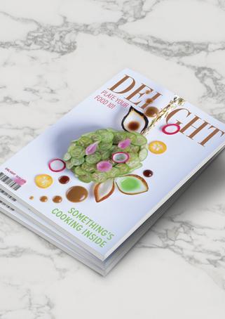 Delight Magazine Stack