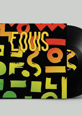 J Balvin X Vinyl Record back