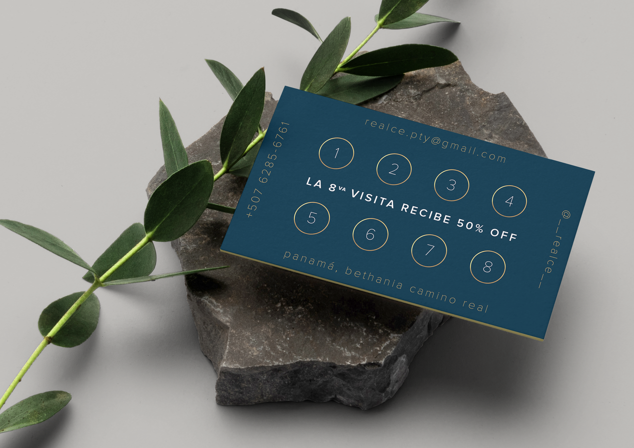 Realce Business Card