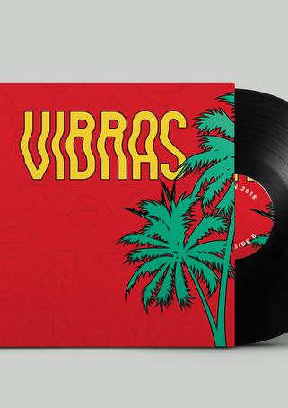 J Balvin Vibras Vinyl Record back