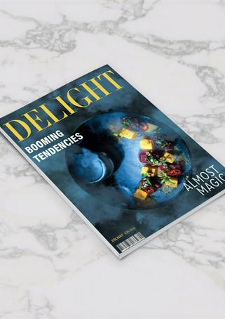 Delight Magazine Alternative Cover