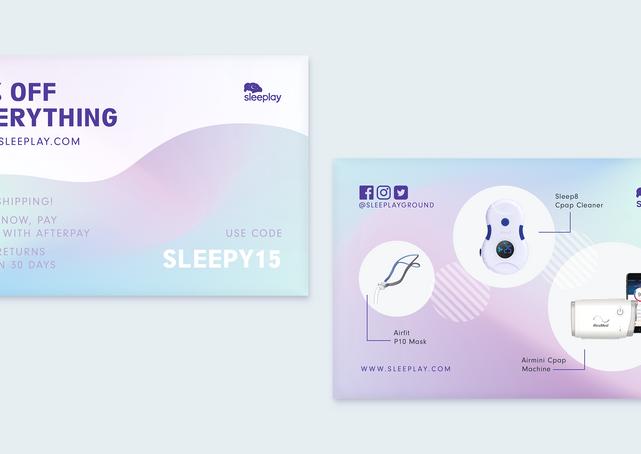Sleeplay Discount Flyer