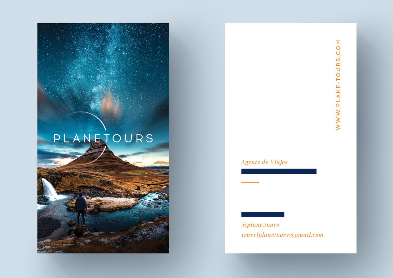 Planetours Business Card