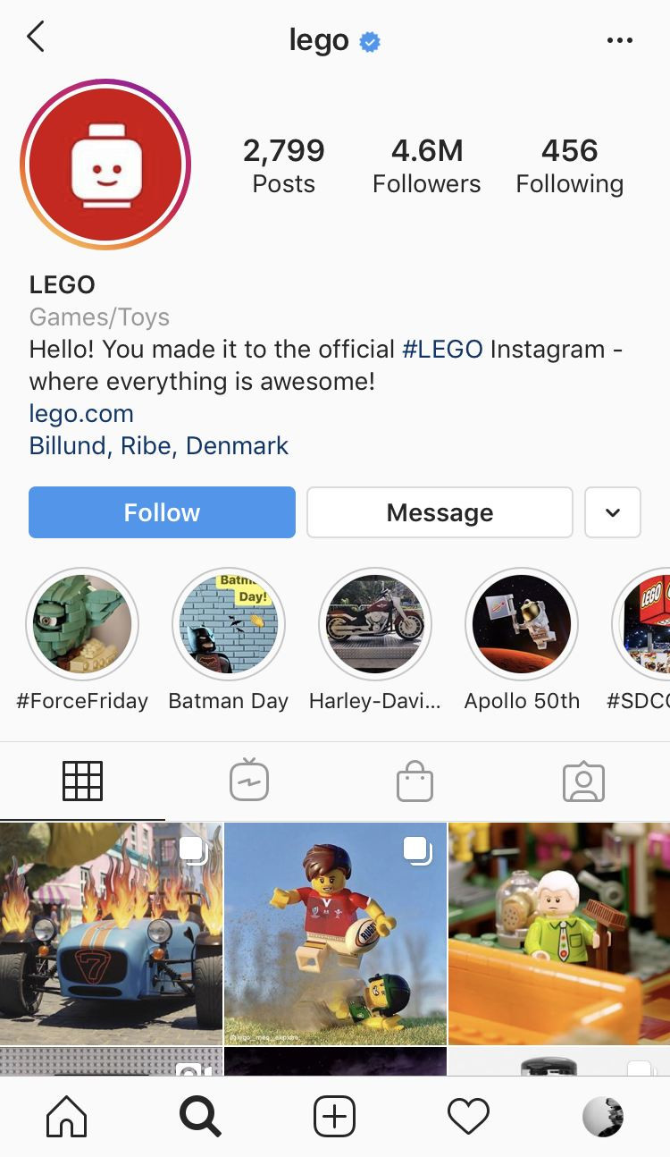 Lego instagram page, learn how to grow your instagram. Lego Tips