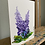 """Thumbnail: Set of 5 painted Lupine greeting cards 5"""" x 7"""""""