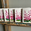 """Thumbnail: Set of 5 painted Fireweed greeting cards 5"""" x 7"""""""