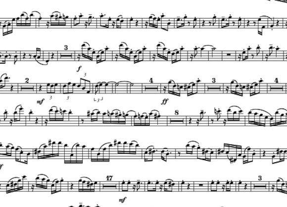 OXY (with Soundtrack) for Saxophone Quartet (with or without Piano)
