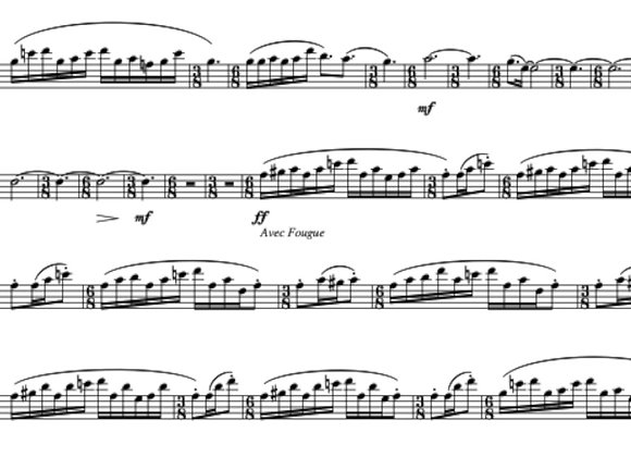 FAIRY DANCE for Two Saxophones (Eb and/or Bb) and Piano
