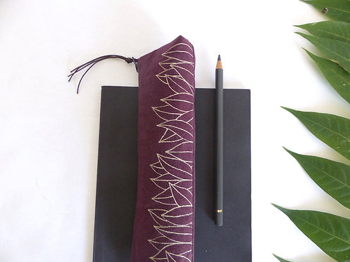 Trousse crayons FEUILLAGE