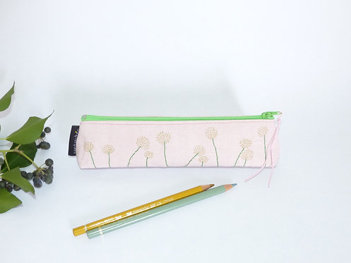 Trousse crayons FLOWERS