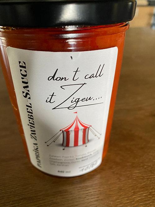 Paprika-Zwiebel-Sauce