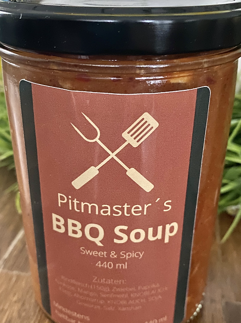Pitmaster`s BBQ Soup