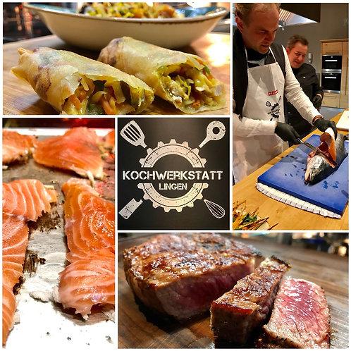 Kochkurse  & Events -Hier können Sie demnächst buchen
