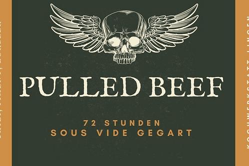 Pulled Beef  USA- Black Angus/ 72 Std. Sous Vide gegart