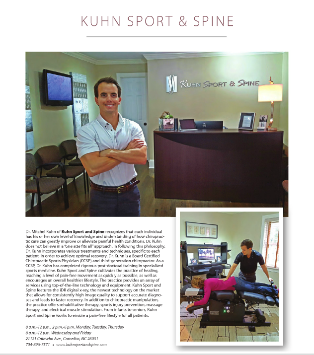 Lake Norman Magazine's Top Charlotte Medical Professionals - We're in it!