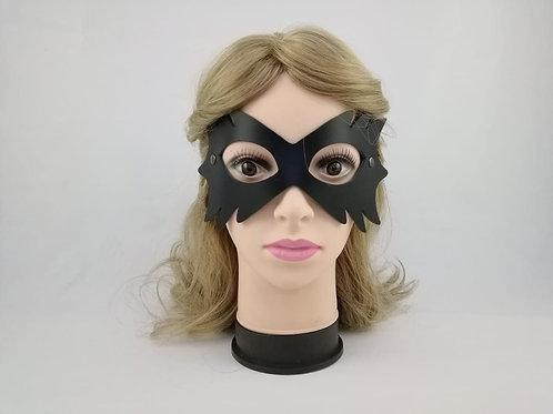 Маска на глаза Елка 1(натуральная кожа)