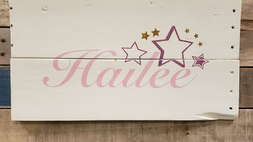 Hailee Custom Name Childrens