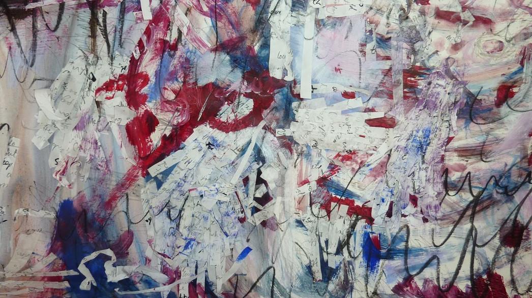Fluidity by Catherine Wynne-Paton, paint