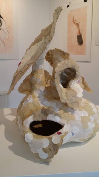 Daisy Rickards' paper sculpture