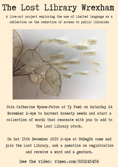 Word and seed collectin workshop flyer a