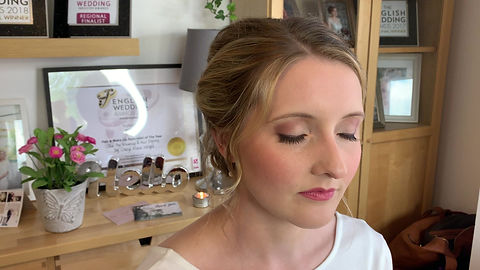 Bridal Makeup Trial in Home Studio