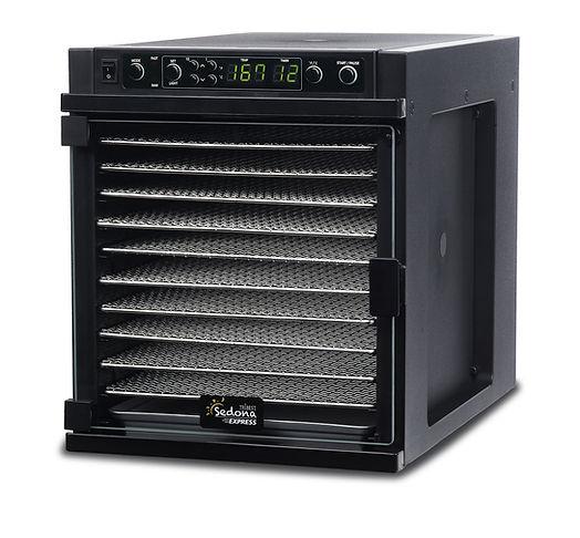 compact sedona smart dehydrator 11 trays dehydrating